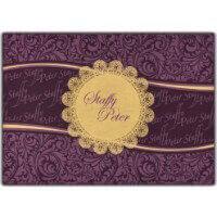 Luxury Wedding Cards - LWC-8834VG