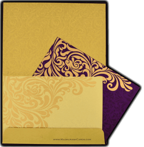Luxury Wedding Cards - LWC-8834VG - 4