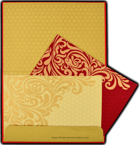 Luxury Wedding Cards - LWC-8833RG - 4