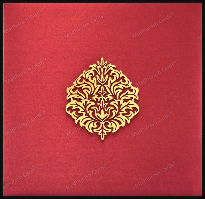 test Hard Bound Wedding Cards - HBC-9205A