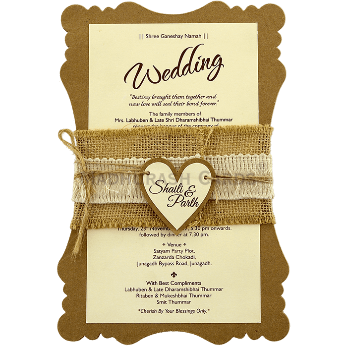 Christian Wedding Cards - CWI-9481 - 2