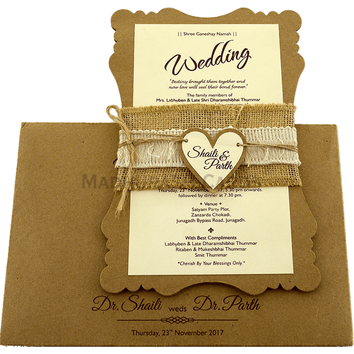 Christian Wedding Cards - CWI-9481 - 3