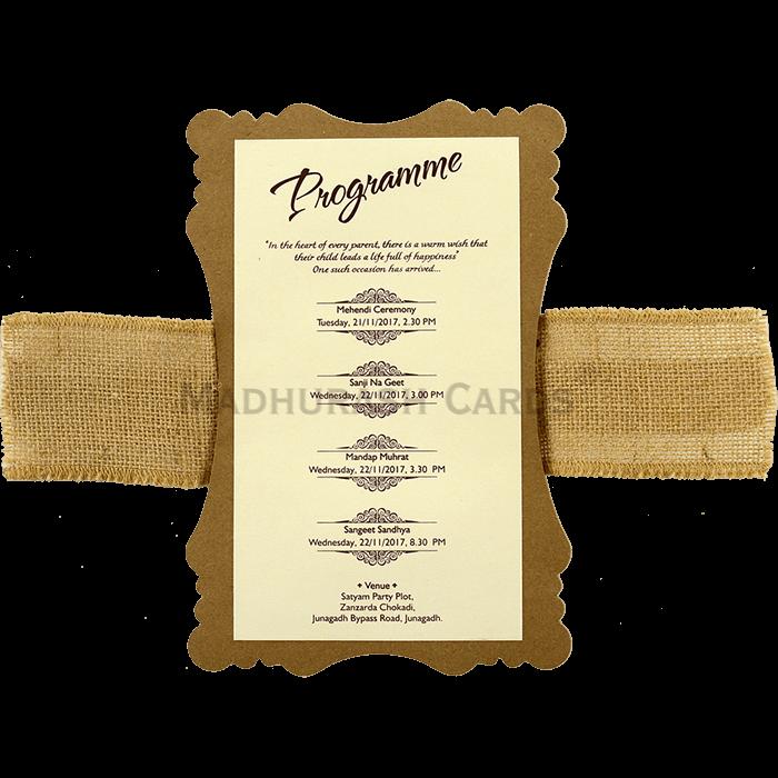 Designer Wedding Cards - DWC-9481 - 5