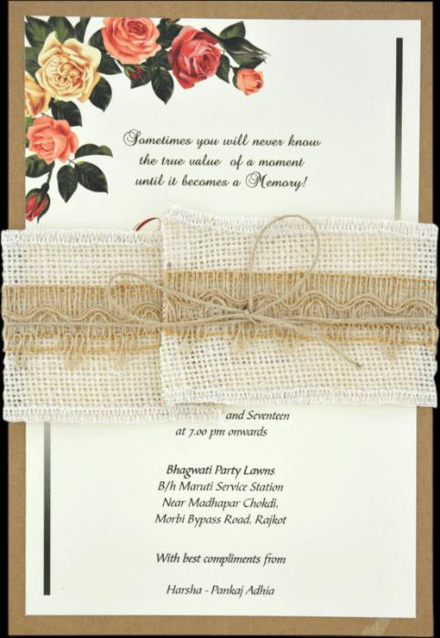 Muslim Wedding Cards - MWC-9463