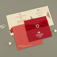Muslim Wedding Cards - MWC-15096