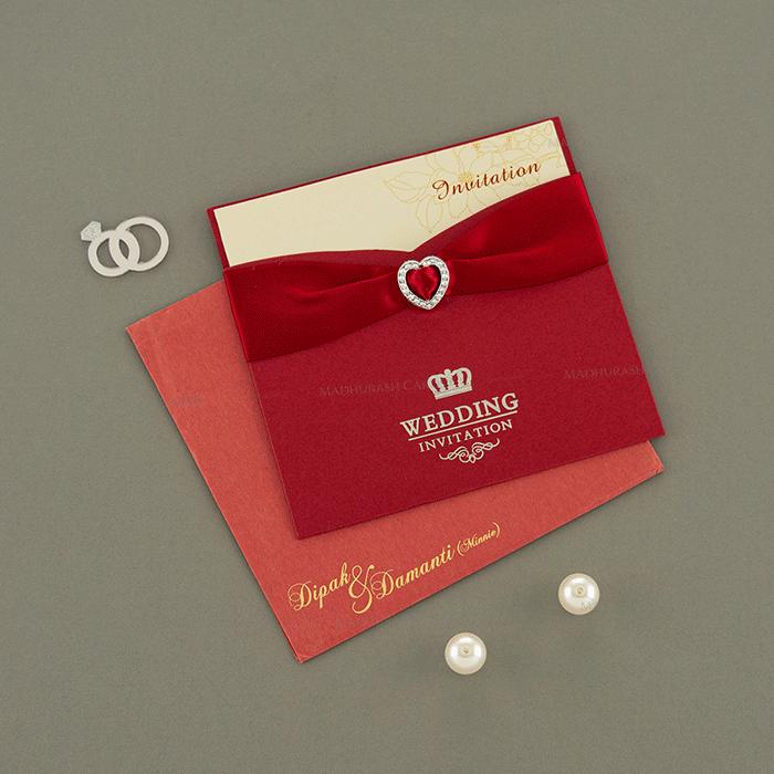 Muslim Wedding Cards - MWC-15096