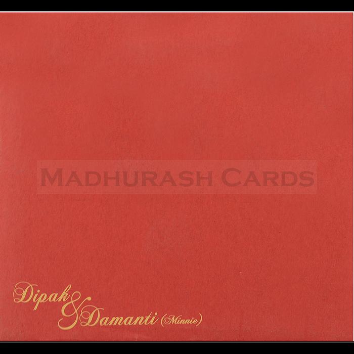 Muslim Wedding Cards - MWC-15096 - 5