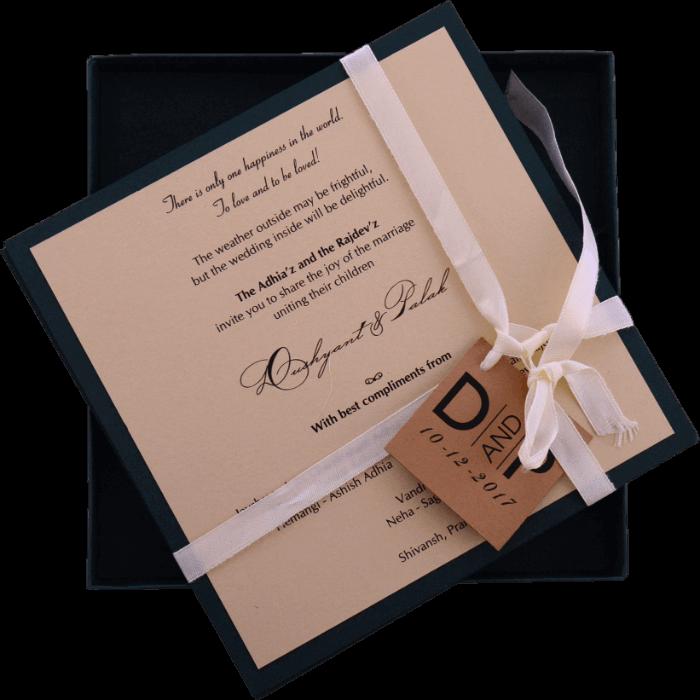 Hindu Wedding Cards - HWC-9441G - 3