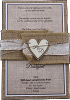 Kraft Wedding Invitations - KWC-9401-B