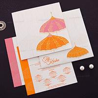 Designer Wedding Cards - DWC-17086