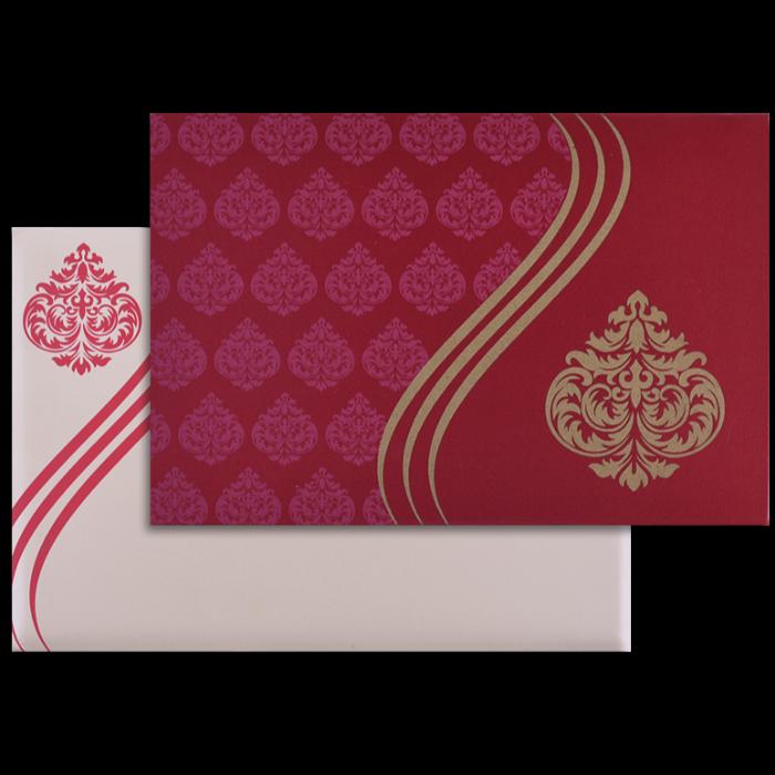 Hindu Wedding Cards - HWC-9027RC