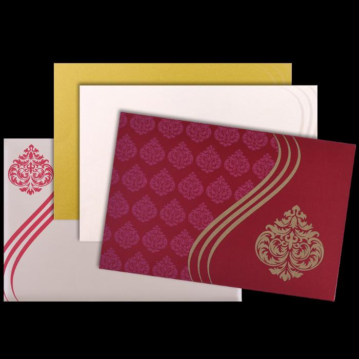 Hindu Wedding Cards - HWC-9027RC - 4