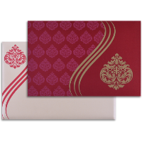 Sikh Wedding Cards - SWC-9027RC