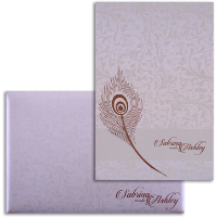 Fabric Wedding Cards - FWI-9028CC