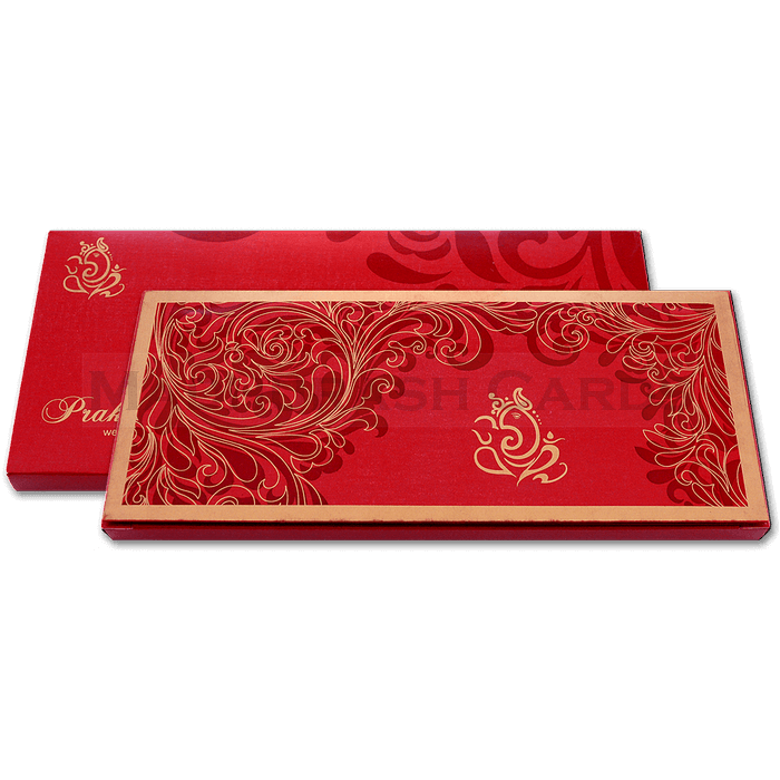 Custom Wedding Cards - CZC-6043R - 4