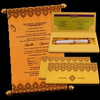 Custom Wedding Cards - CZC-6046G