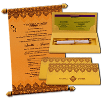 Boxed Scroll Cards - SC-6046G