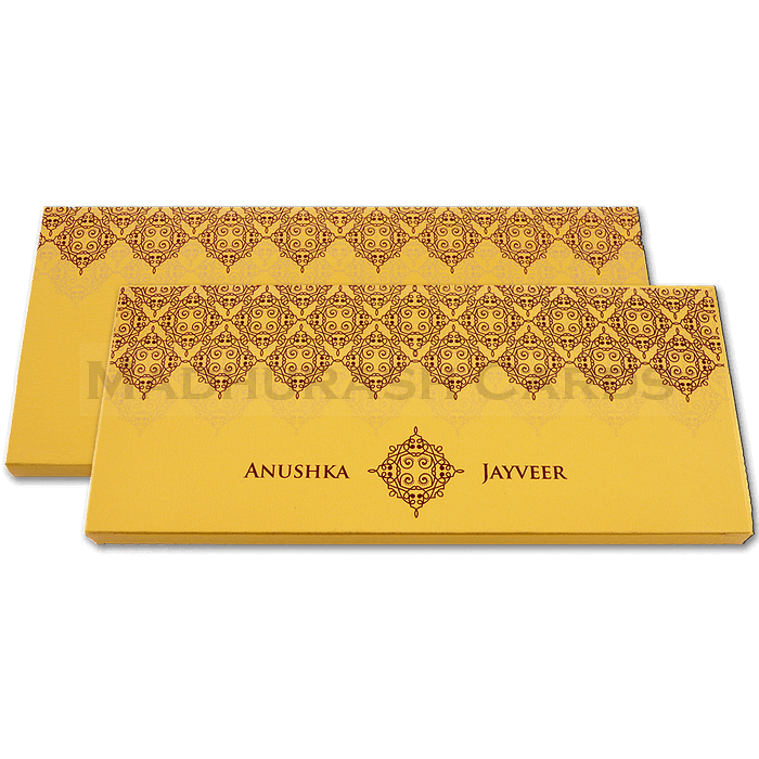 Boxed Scroll Cards - SC-6046G - 4