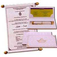 Boxed Scroll Cards - SC-6047C