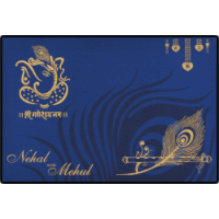 Hindu Wedding Cards - HWC-9105BG