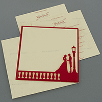 Hindu Wedding Cards - HWC-18043