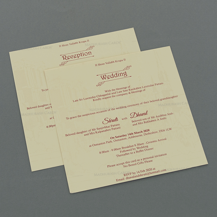 Christian Wedding Cards - CWI-18043 - 4