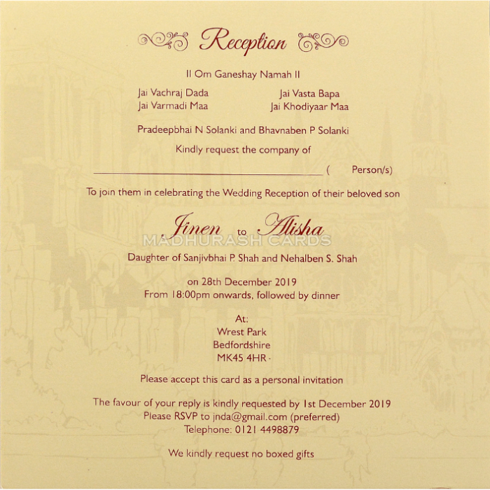 Multi-faith Invitations - NWC-18043 - 5