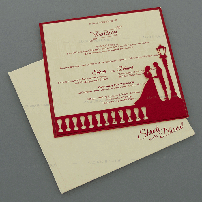 test Designer Wedding Cards - DWC-18043