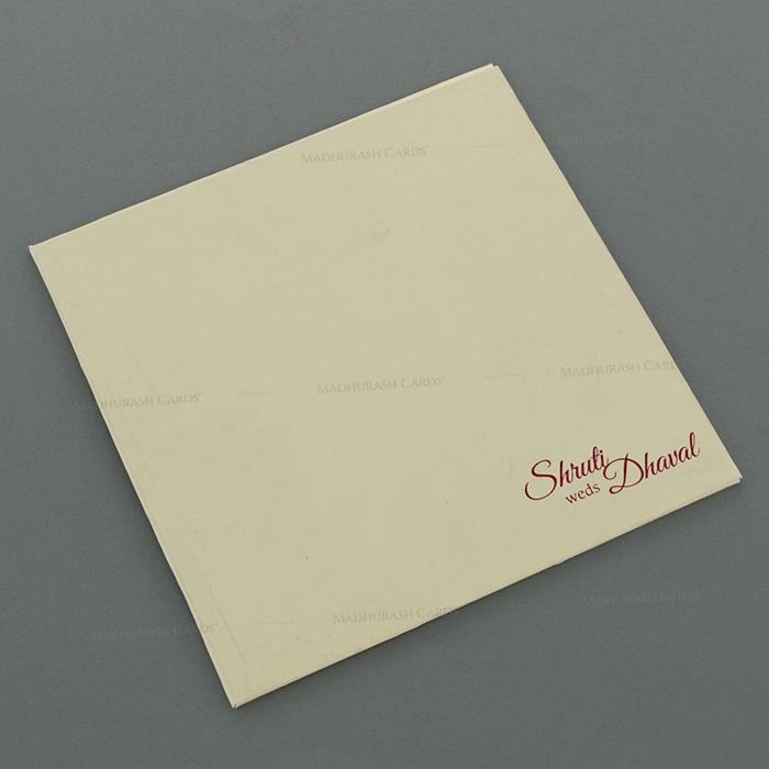 Designer Wedding Cards - DWC-18043 - 3