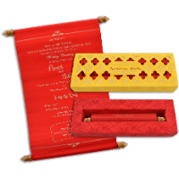 Boxed Scroll Cards - SC-18069