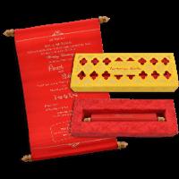 Scroll Wedding Invitations - SC-18069