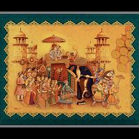 Hindu Wedding Cards - HWC-18109