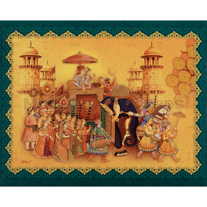 Hindu Wedding Cards - HWC-18109