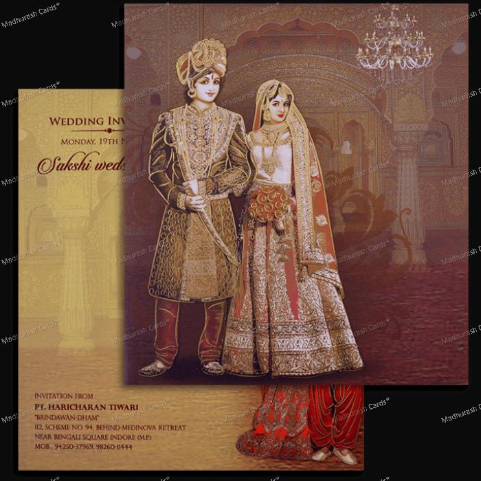 Hindu Wedding Cards - HWC-18112