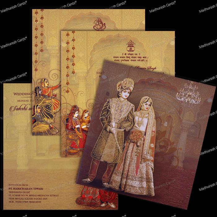 Hindu Wedding Cards - HWC-18112 - 3