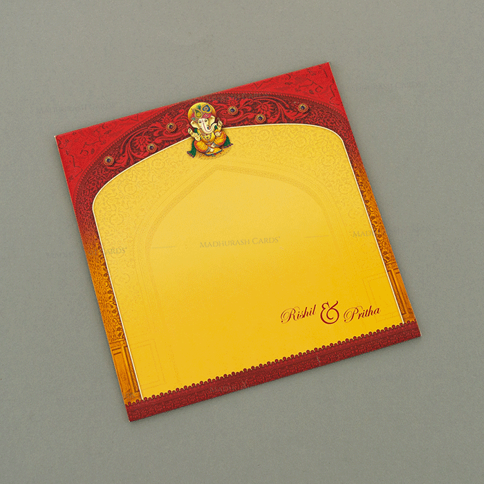 Hindu Wedding Cards - HWC-18145 - 3