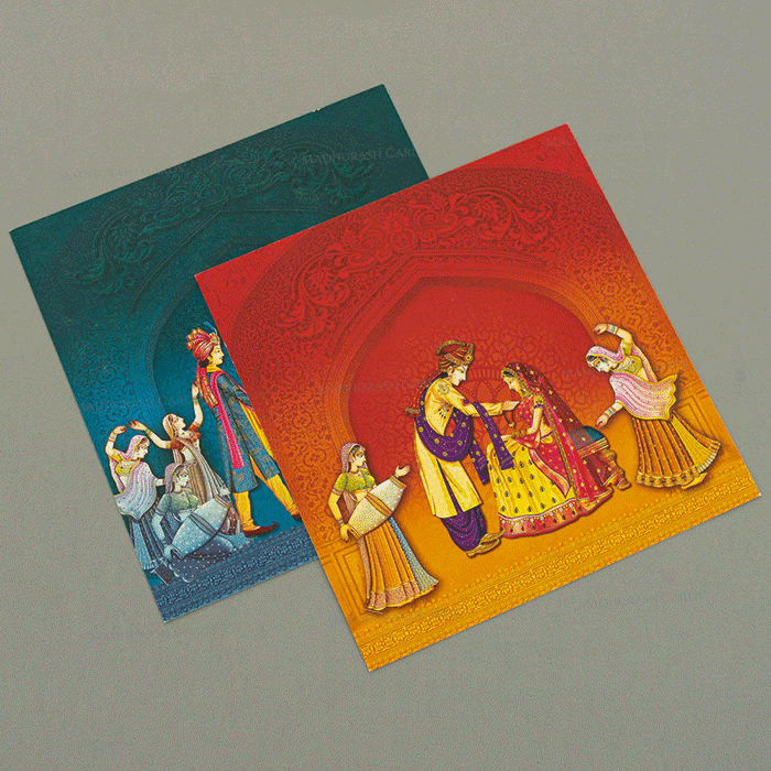 Hindu Wedding Cards - HWC-18145 - 5