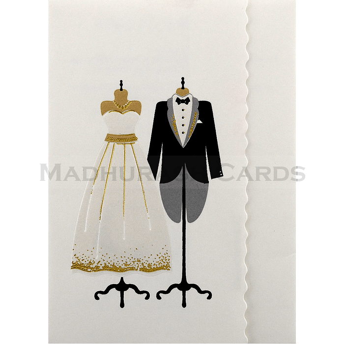 Christian Wedding Cards - CWI-18163 - 2