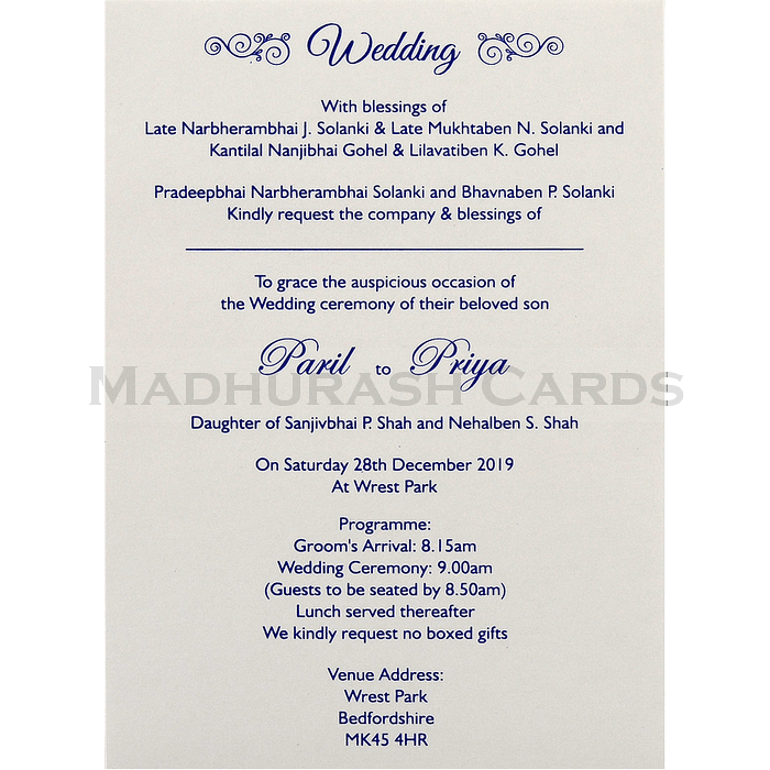 Multi-faith Invitations - NWC-18163 - 5