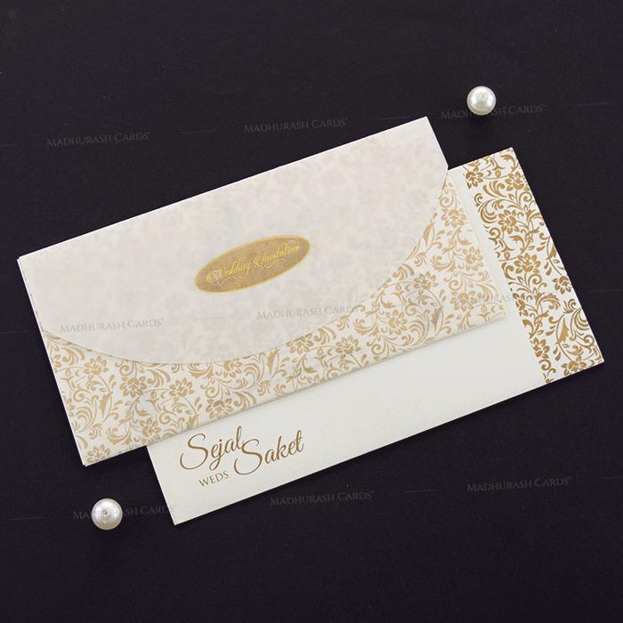 Muslim Wedding Cards - MWC-18188