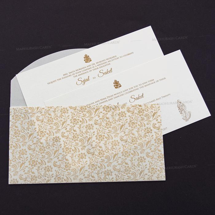 Muslim Wedding Cards - MWC-18188 - 5