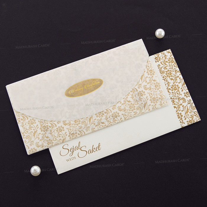 Designer Wedding Cards - DWC-18188 - 2