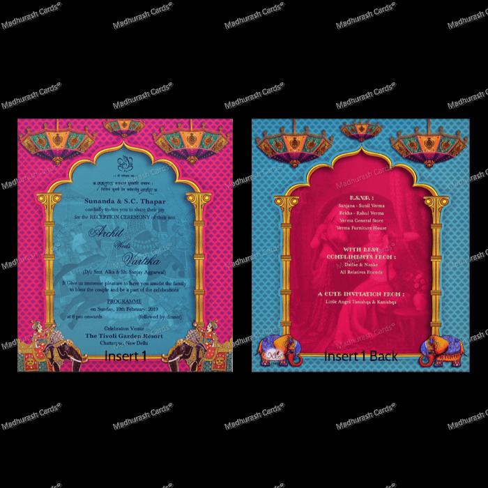 Bridal Shower Invitations - BSI-18514 - 4