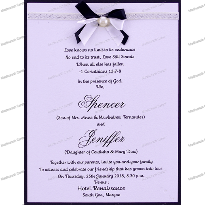 Bridal Shower Invitations - BSI-18537 - 4