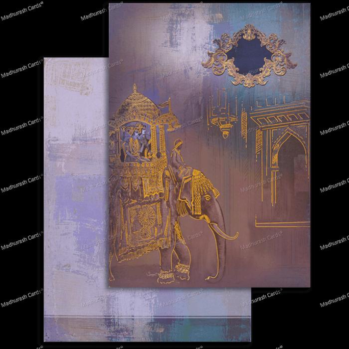 Hindu Wedding Cards - HWC-18027