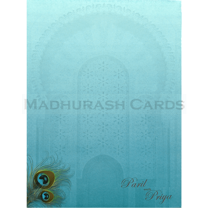 Hindu Wedding Cards - HWC-18078 - 3
