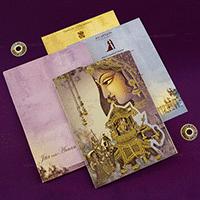 Hindu Wedding Cards - HWC-18079