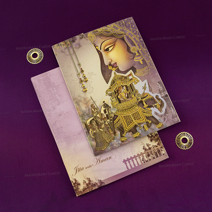 Hindu Wedding Cards - HWC-18079