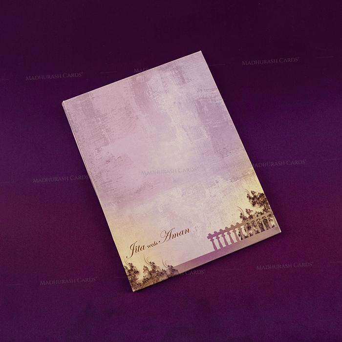 Hindu Wedding Cards - HWC-18079 - 3