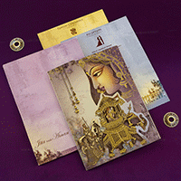 Designer Wedding Cards - DWC-18079